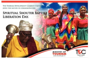TDC Spiritual Shouter Baptist Liberation Day Ad